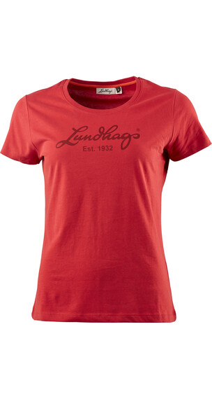 Lundhags W's Tee Red
